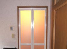浴室ドア交換工事/四街道市S様邸