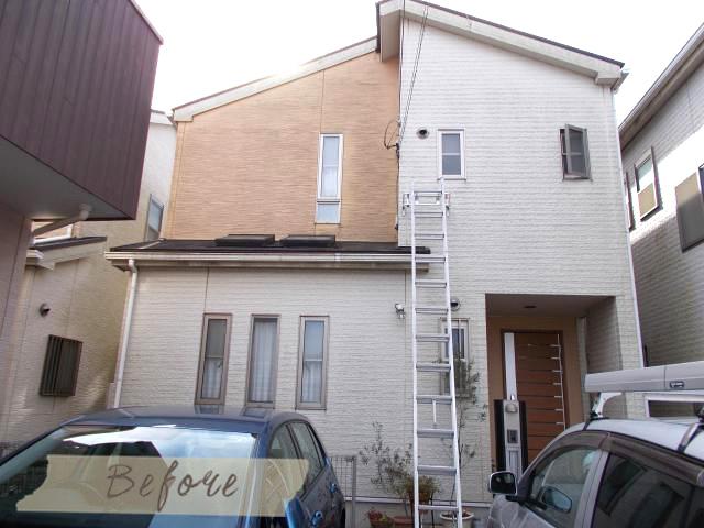 劣化診断で、屋根の防水機能の低下と外壁(サイディング)のシーリングの劣化を確認して頂きました。